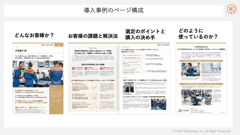 導入事例のページ構成